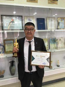 Факультет ғалымы Маңғыстау облысының «Жыл адамы» атанды